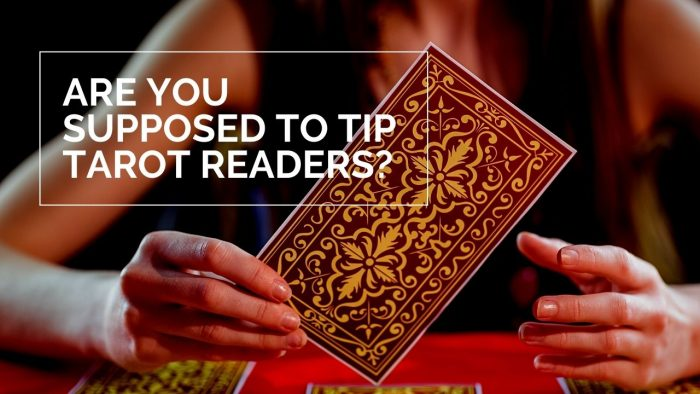 Are You Supposed to Tip Tarot Readers
