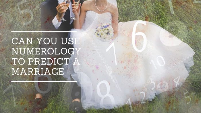 Can You Use Numerology to Predict a Marriage
