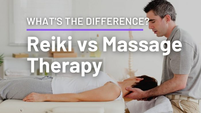 Reiki vs Massage Therapy