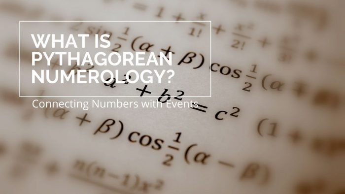 What is Pythagorean Numerology
