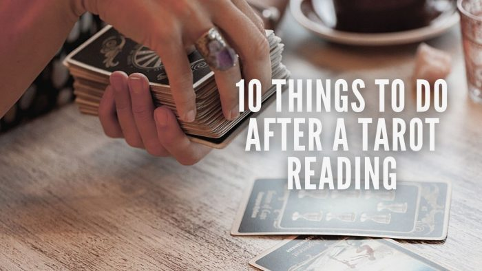 What to do After a Tarot Reading
