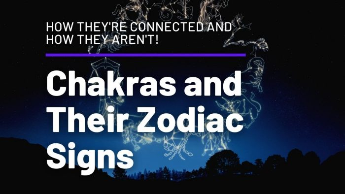 Chakras and Their Zodiac Signs